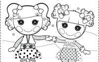 Раскраска для девочек лалалупси распечатать - 4