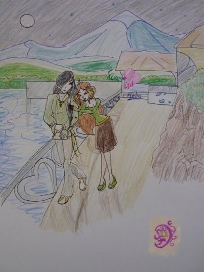 винкс флора и гелия как они познакомились