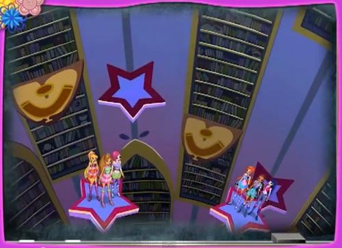 Винкс в библиотеке