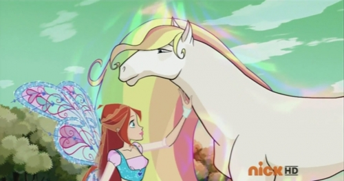 Блум и радужный конь