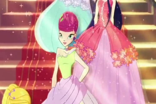 Винкс цветочные принцессы 5 сезон