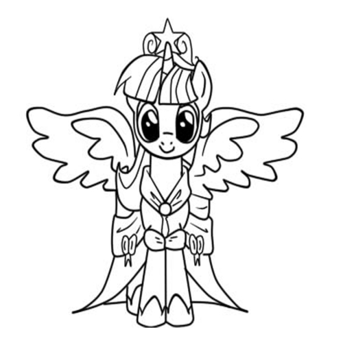 Раскраски пони монстер хай