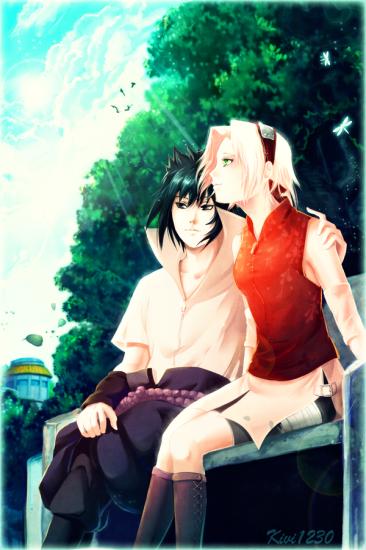 Наруто и сакура любовь картинки