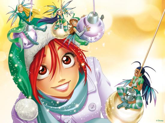Новые новогодние обои чародейки витч