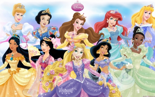 Принцессы Диснея в бальных платьях - Дисней Принцессы ...