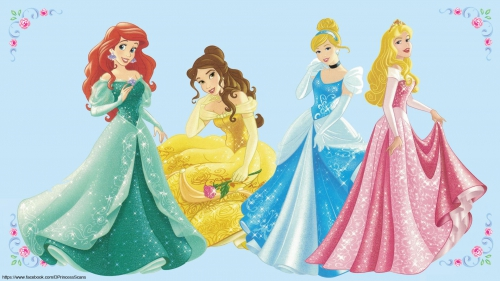 Дисней Принцессы в бальных платьях - Дисней Принцессы ...