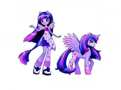 Девушки Эквестрии Радужный Рок Искорка, Equestria Girls met Pony