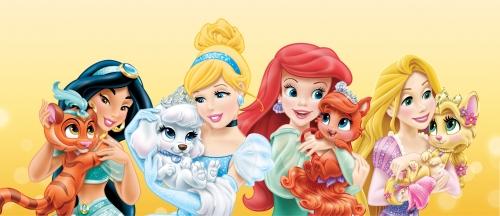 Дисней принцессы с питомцами - Королевские питомцы ...