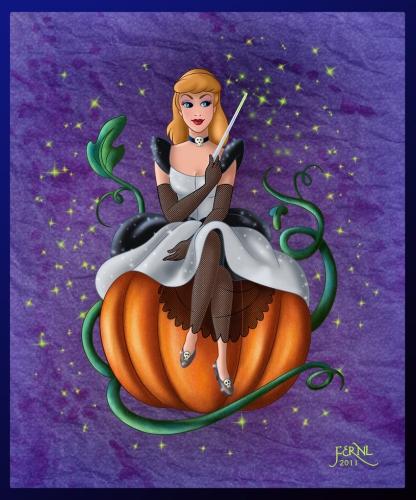 Cinderlla pumpkin from movie