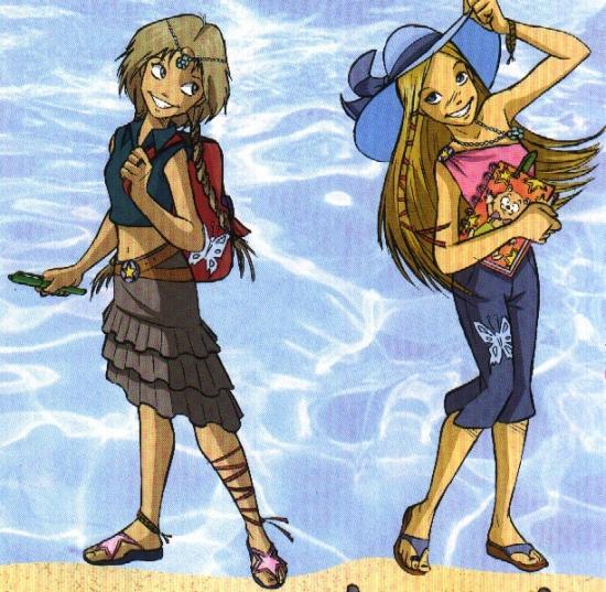 Элион и Корнелия, летний стиль