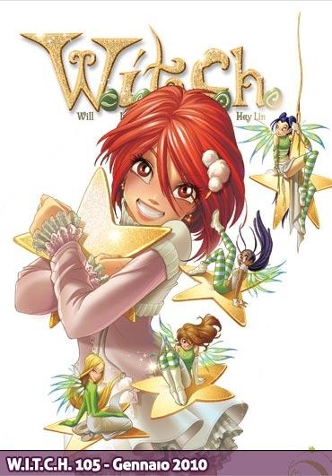 Вилл и Чародейки, новогодняя обложка комикса