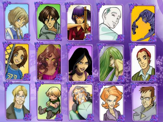 Второстепенные персонажи мира Чародеек