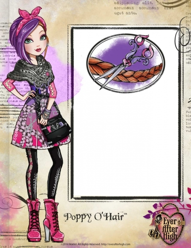 Poppy The Roybel  Ever After High