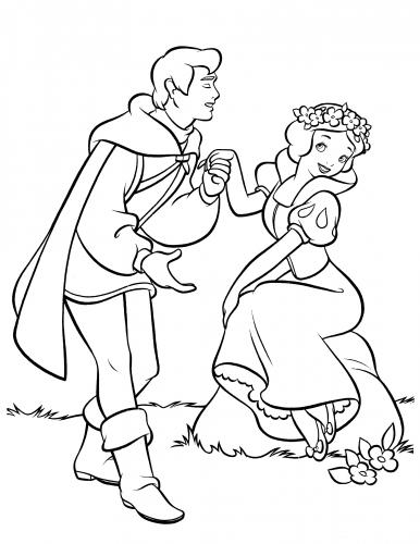 Раскраска принцесса Белль Распечатать картинки из