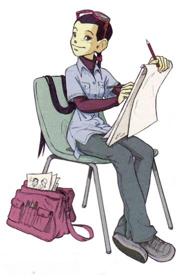 Чародейки хай лин рисует