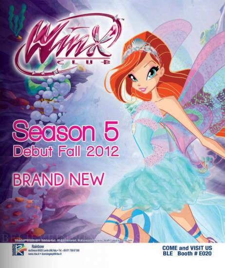 Новый плакат винкс 5 сезон