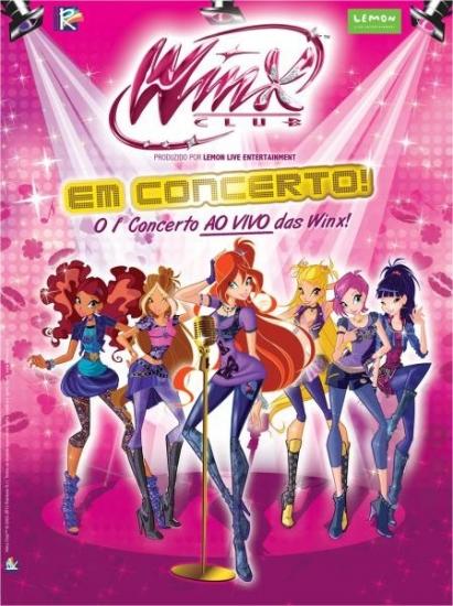 Винкс магия и концерт