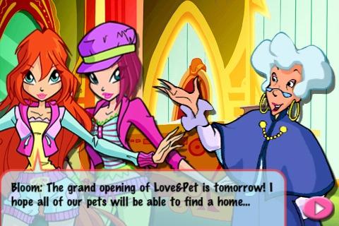 Скриншот из игры Love&Pets для IPhone