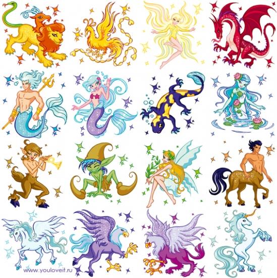 Винкс гороскоп, картинка по знакам зодиака