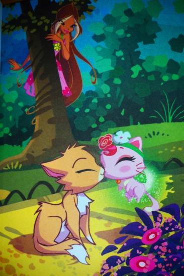Kittens kiss ^ ^