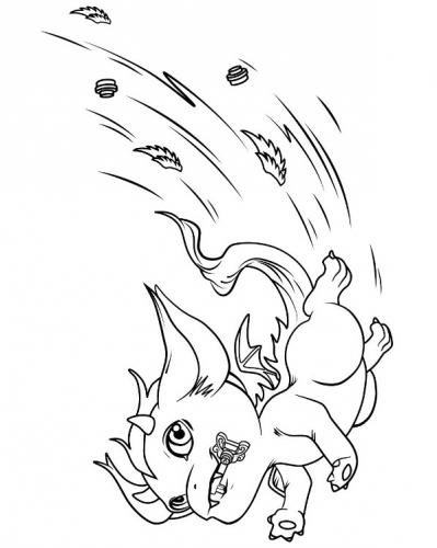 Раскраска лего эльфы с драконами