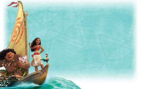 лодка моаны картинка