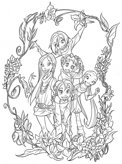 jetix witch coloring pages - photo#8