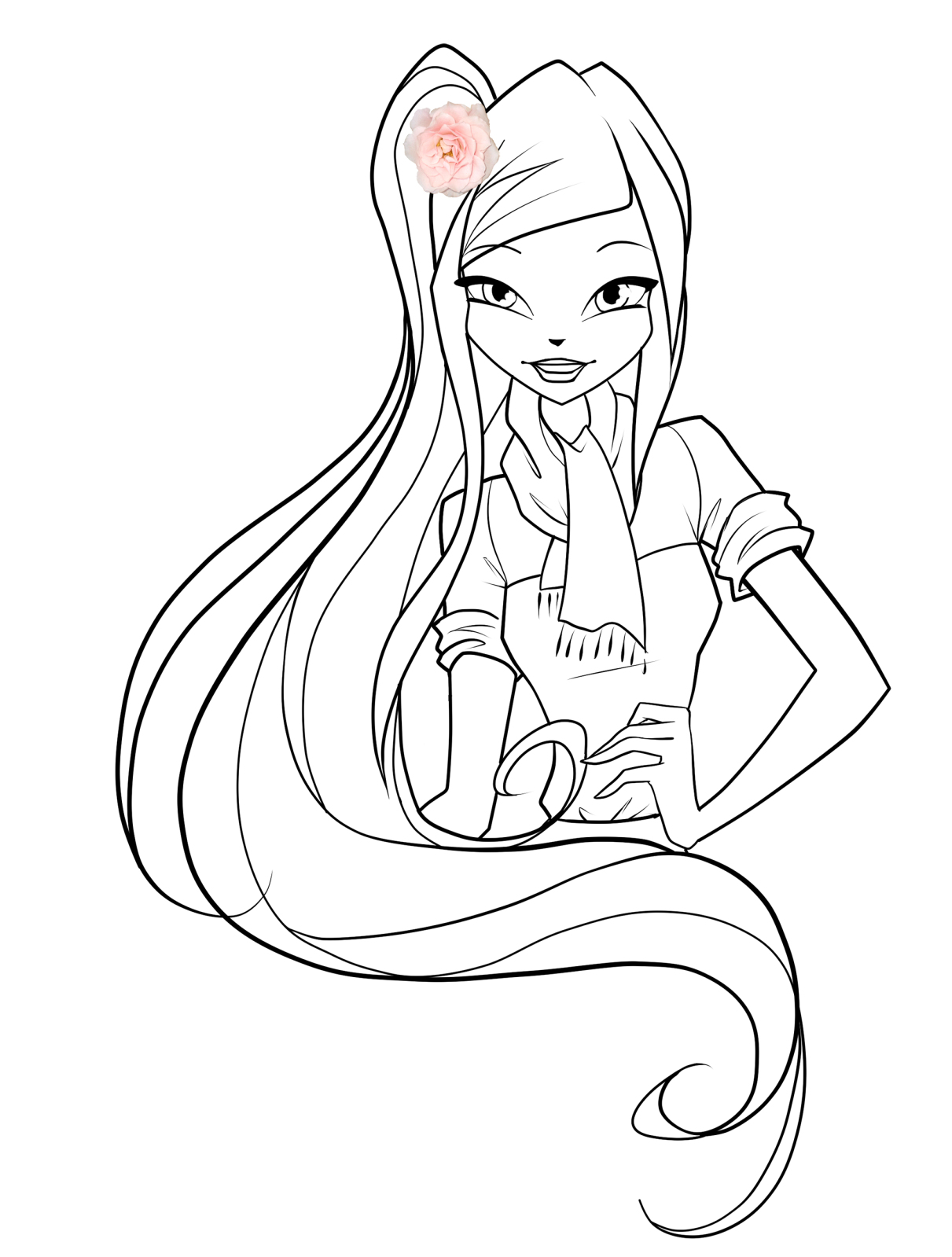 Free Season 4 Winx Coloring Pages