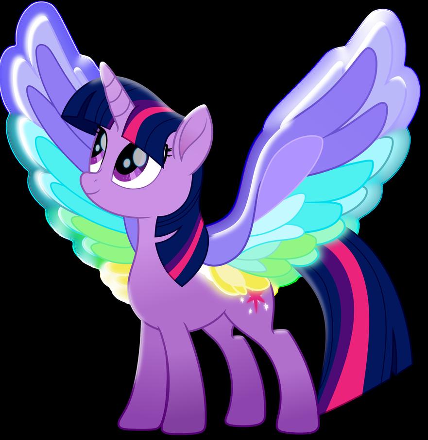Принцесса Искорка с радужными крыльями My Little Pony ...