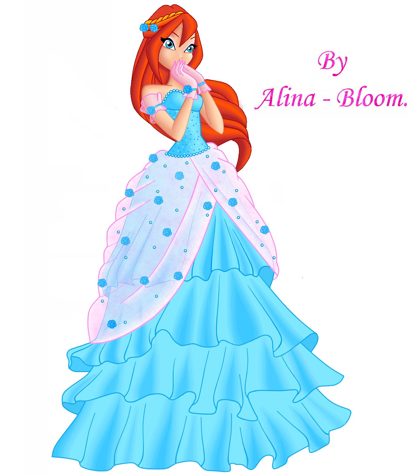 Фото платья блум