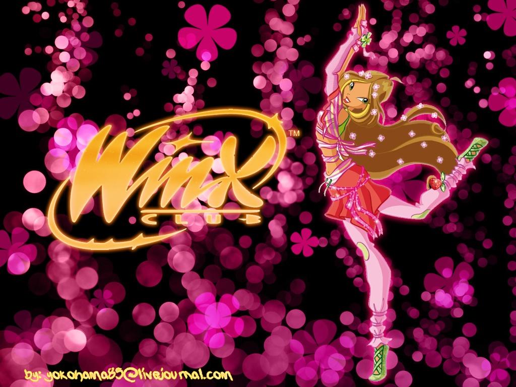 Волшебные Винкс обои для рабочего стола winx dance!