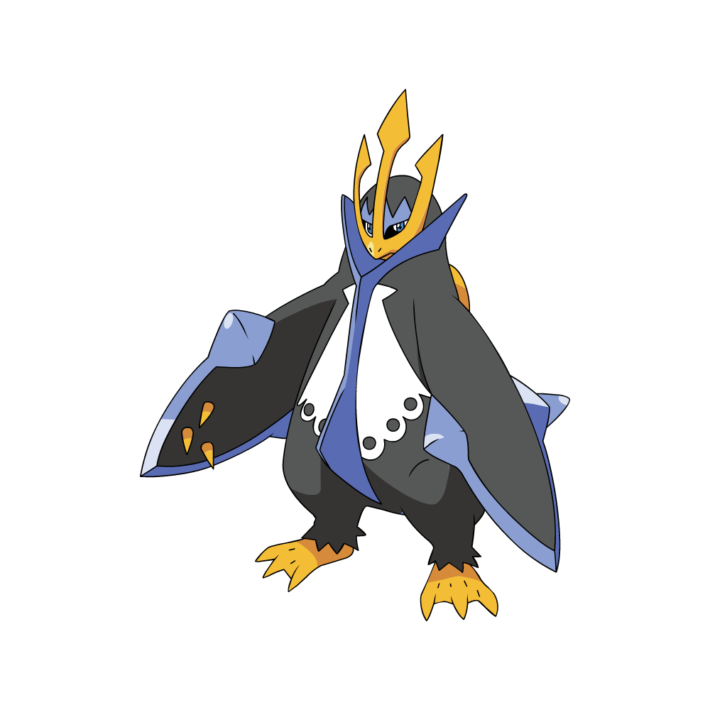Empoleon - Evolution tiplouf ...