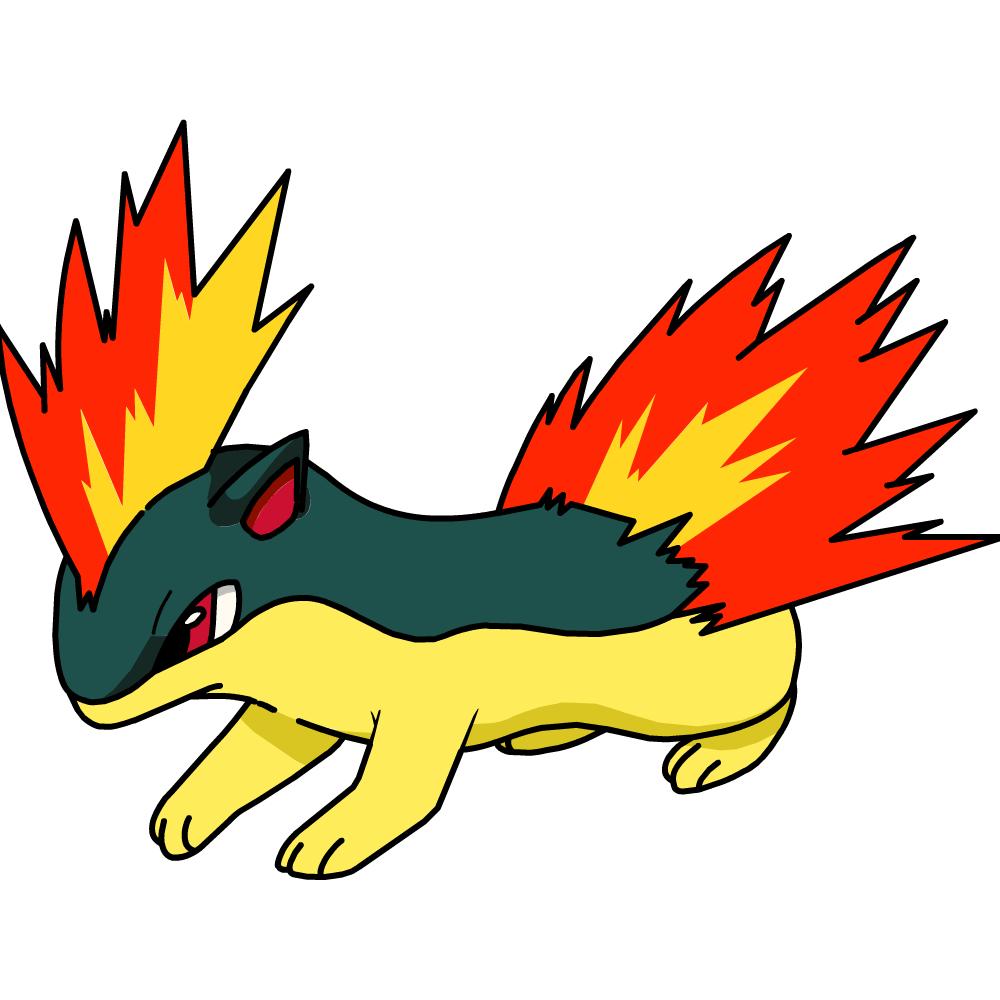 Pokemon Quilava Evolution Images | Pokemon Images
