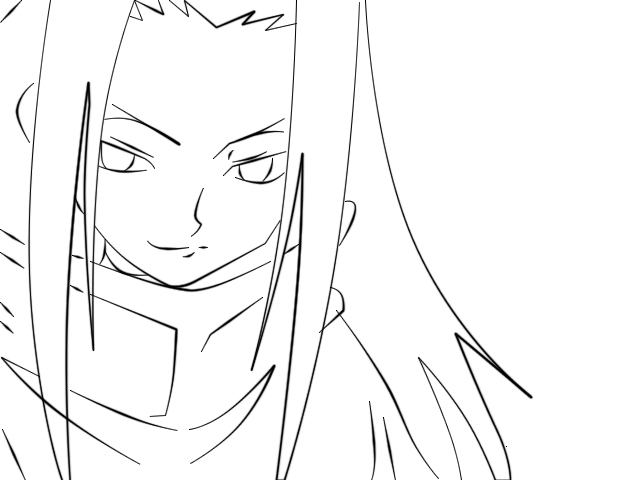 Shaman King coloring pages to print