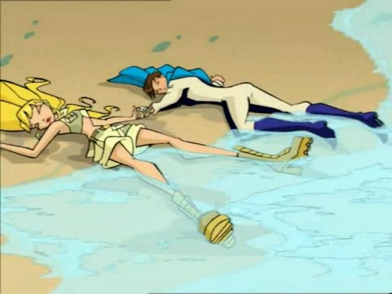 Эпизод вышел в эфир. 21 апр 2005. Красный Фонтан и Алфея собирают отряд и