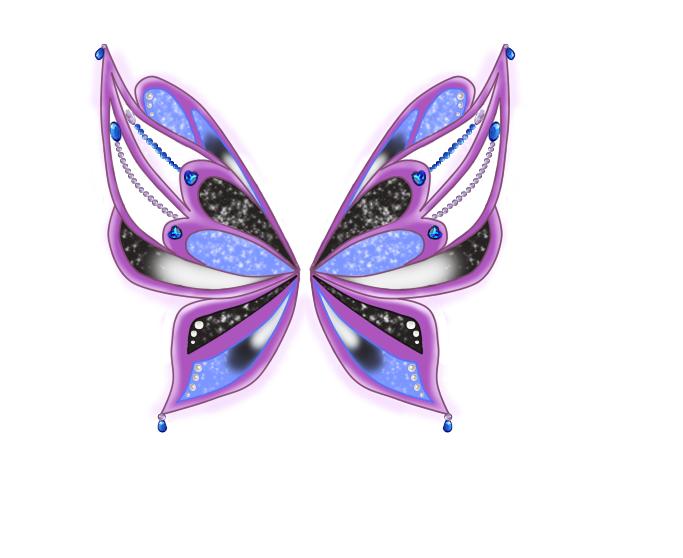 Как сделать крылья феи винкс
