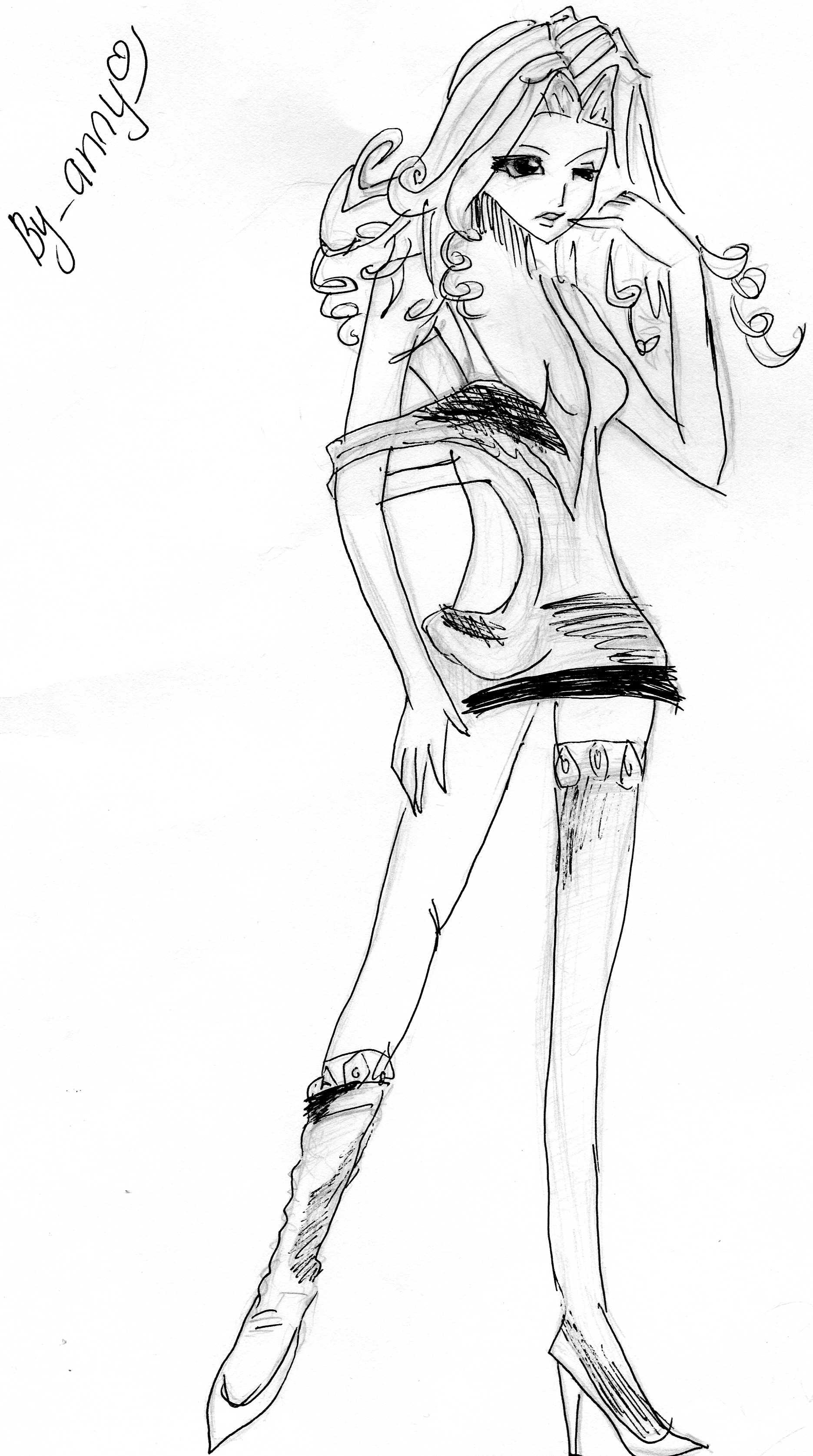 картинки в стиле аниме:
