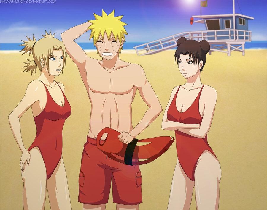 аниме летние картинки: