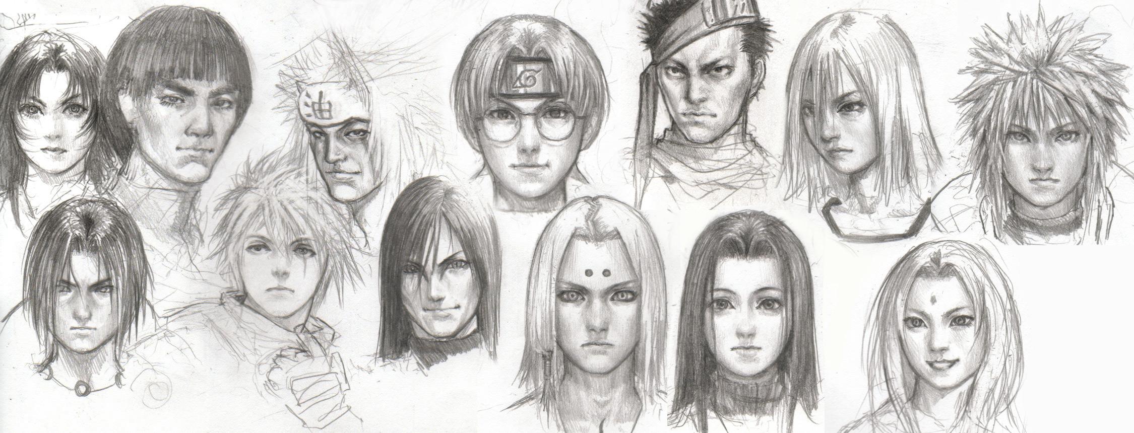 наруто картинки персонажей