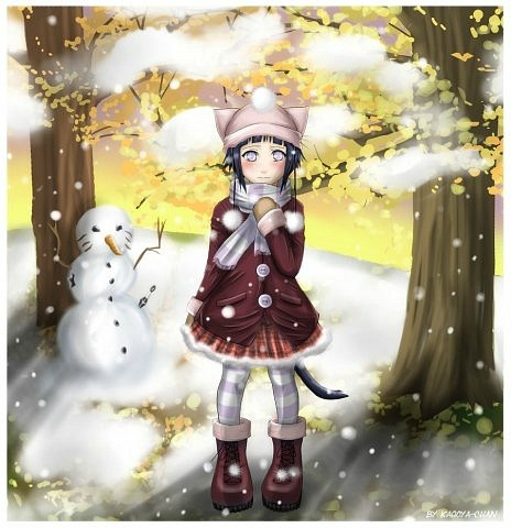 Картинки хинати зимой