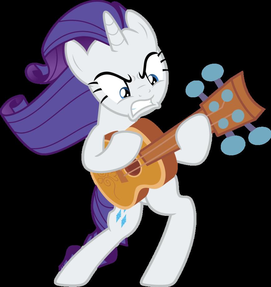 Пони играют гитаре