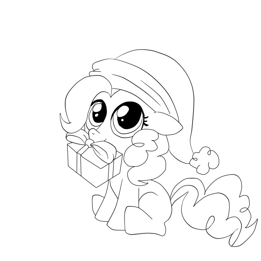 новогодняя раскраска пони раскраски пони дружба это чудо
