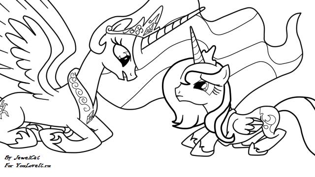 Скачать и распечатать раскраски май литл пони