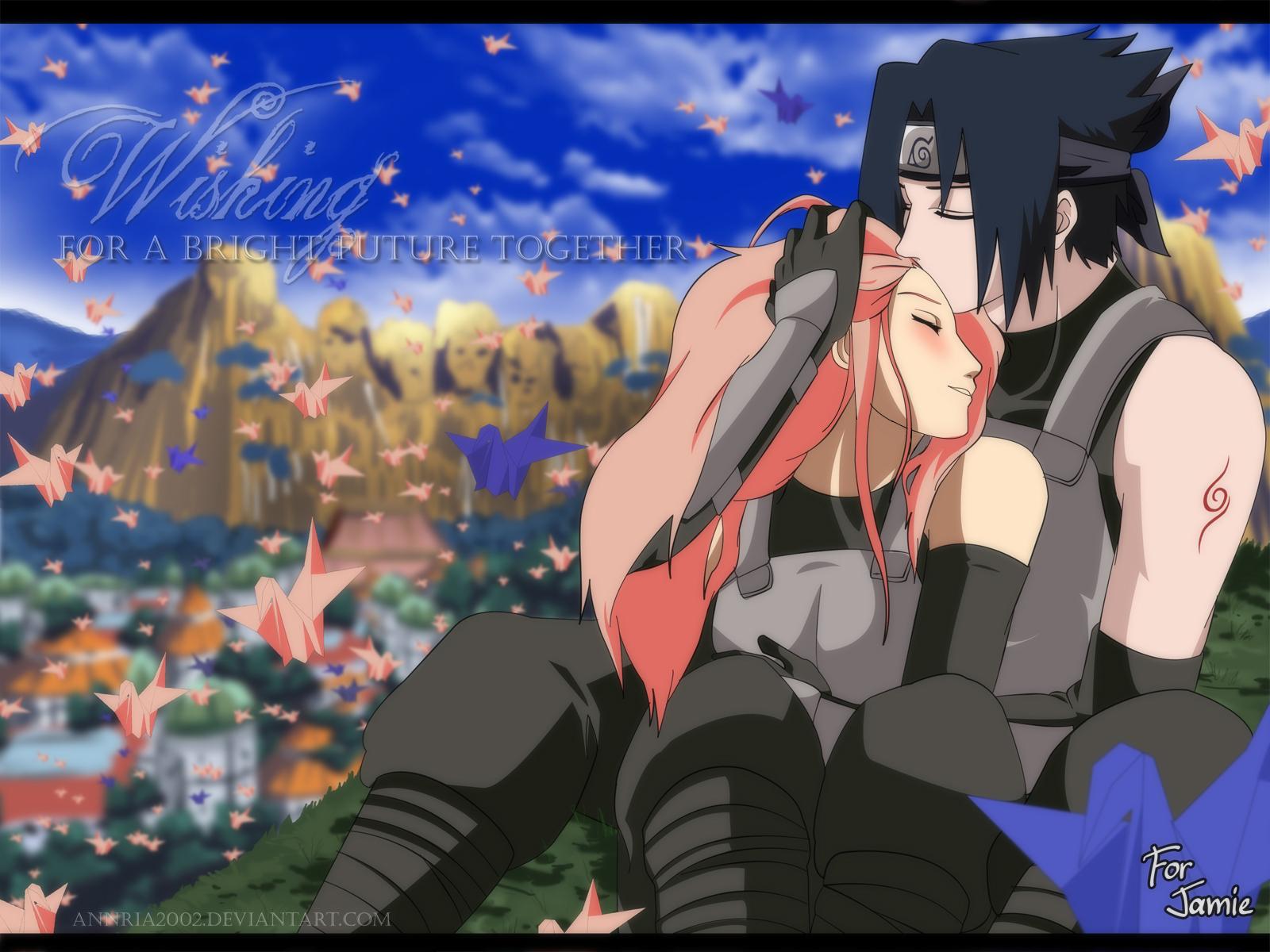 Саске и сакура 2 фотография