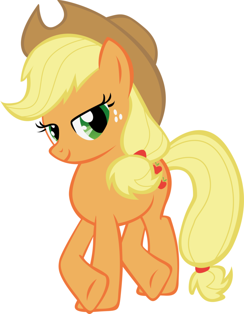5594 applejack my little - photo #1