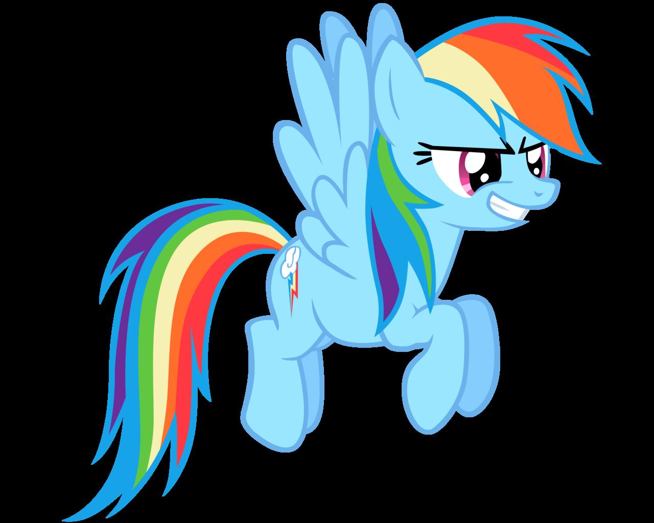 картинки пони радуга дэш