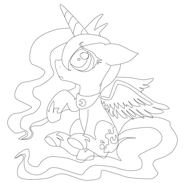 My little pony Игры раскраска пони дружба 11