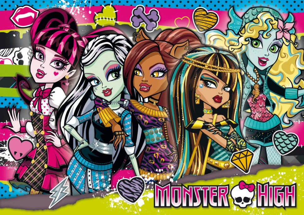 Fondos De Pantalla De Monster High: Монстр Хай