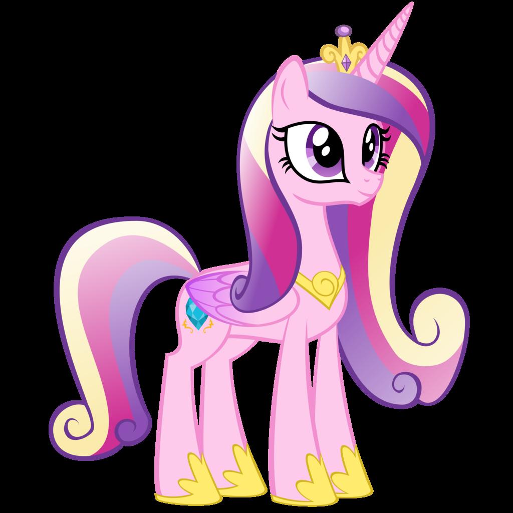 Раскраска принцесса каденс и селестия