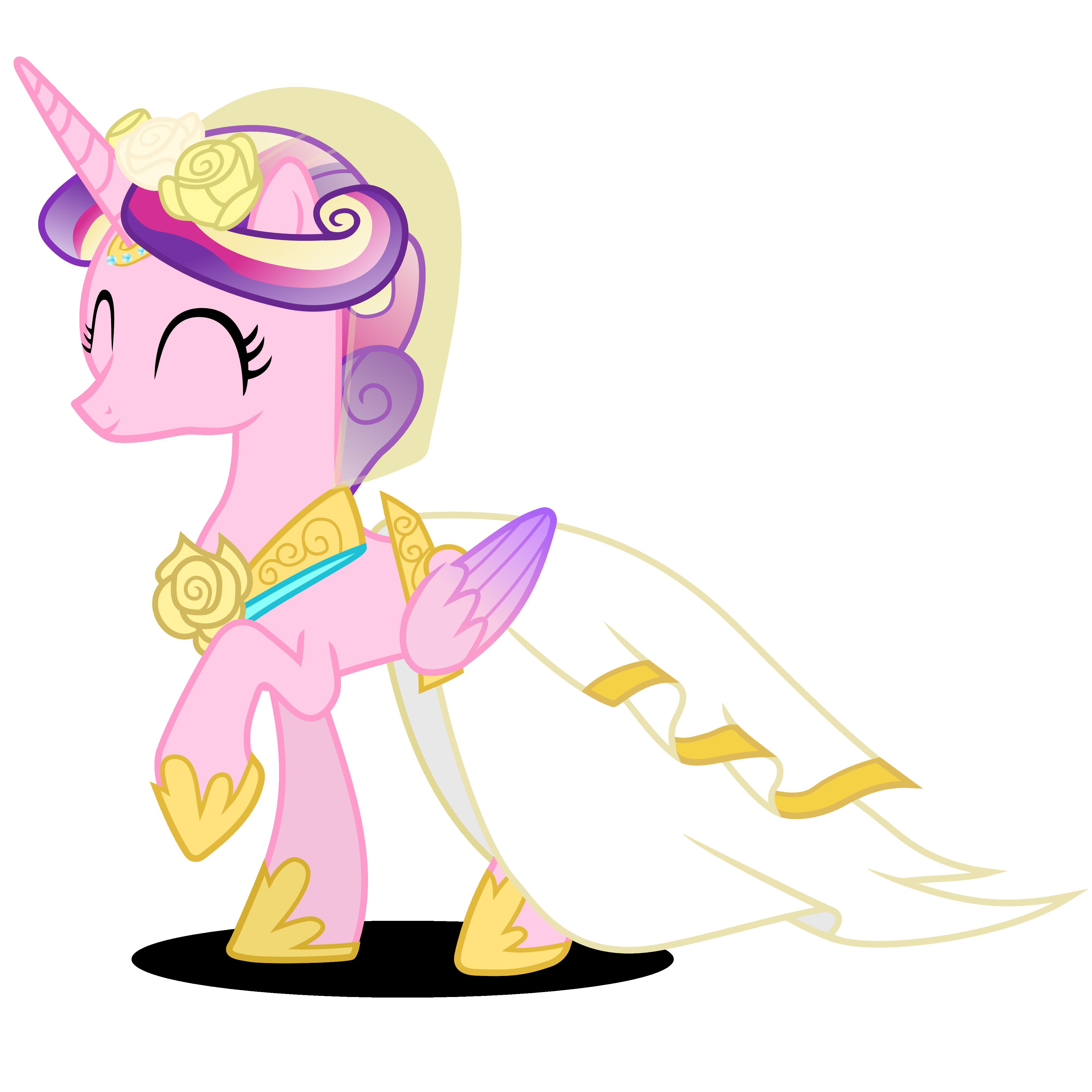 Прически для пони каденс